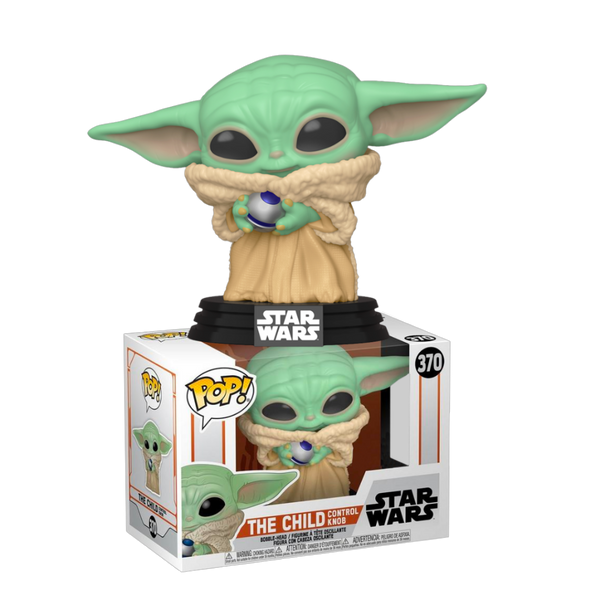 Star Wars Mandalorian The Child (baby yoda) With Control Knob Funko Pop Vinyl Figure