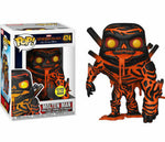 Spider-Man: Far Home Molten Man Glow In The Dark Exclusive Funko Pop! Vinyl Figure #474