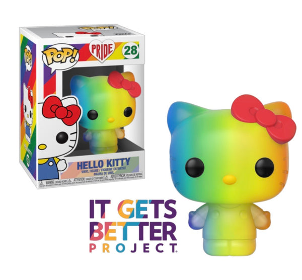 PRE ORDER Pride 2020 Rainbow Sanrio Hello Kitty Funko Pop! Vinyl Figure
