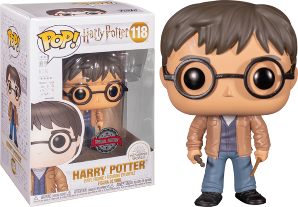 Harry Potter With Two Wands Funko Pop Vinyl Figure Exclusive