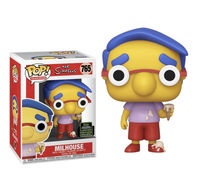 The Simpsons Milhouse Van Houten Funko Pop Vinyl Figure ECCC 2020 Exclusive