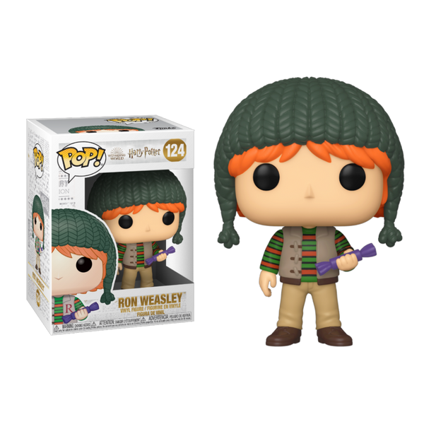 PRE ORDER Harry Potter Holiday Ron Weasley Funko Pop! Vinyl