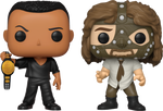 PRE ORDER WWE The Rock vs Mankind Funko Pop! Vinyl Figure 2-Pack