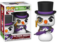 PRE ORDER DC Penguin As Snowman Holiday Funko POP Vinyl