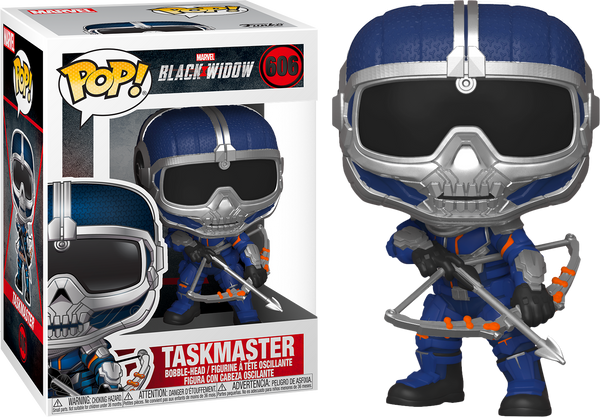 PRE ORDER Marvel Black Widow Taskmaster With Bow Funko Pop Vinyl Figure