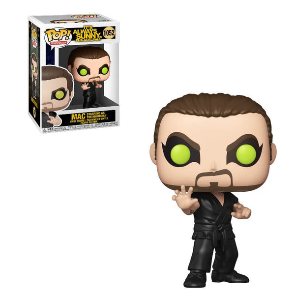 PRE ORDER It's Always Sunny In Philadelphia S1 Mac as The Nightman Funko Pop! Vinyl