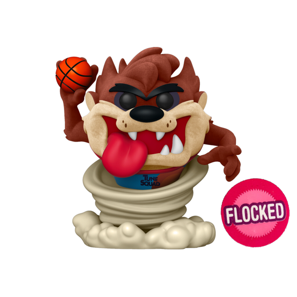 PRE ORDER Space Jam 2 A New Legacy Taz Flocked Funko Pop! Vinyl