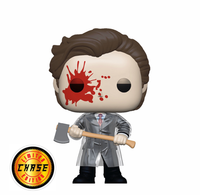 American Psycho Patrick With Axe Funko Pop Vinyl Figure