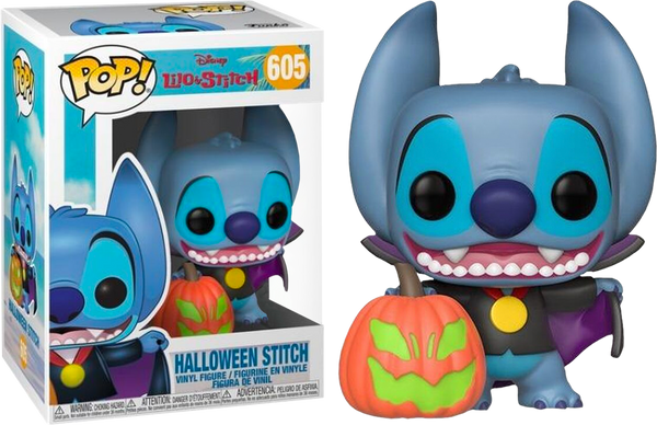 Disney Lilo And Stitch Halloween Stitch Funko Pop Vinyl Figure