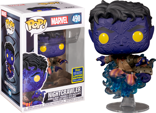 Marvel X-Men Nightcrawler SDCC 2020 Funko Pop Vinyl Figure