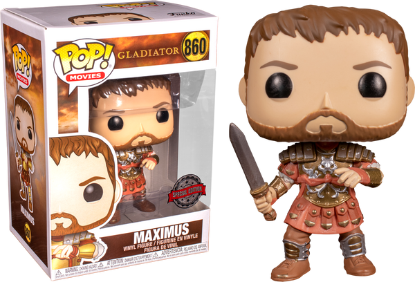 Gladiator Maximus With Armour Funko Pop Vinyl Figure