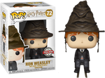 Harry Potter Ron Sorting Hat Funko POP Vinyl