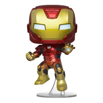 Marvel Avengers Game Iron Man In Space Suit (Stark Tech Suit) Funko Pop Vinyl Figure
