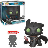 How To Train Your Dragon Toothless 10 Inch Funko Pop Vinyl Figure Special Edition Exclusive #686