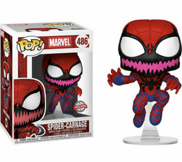 Marvel Spider Carnage Funko Pop Vinyl Special Edition