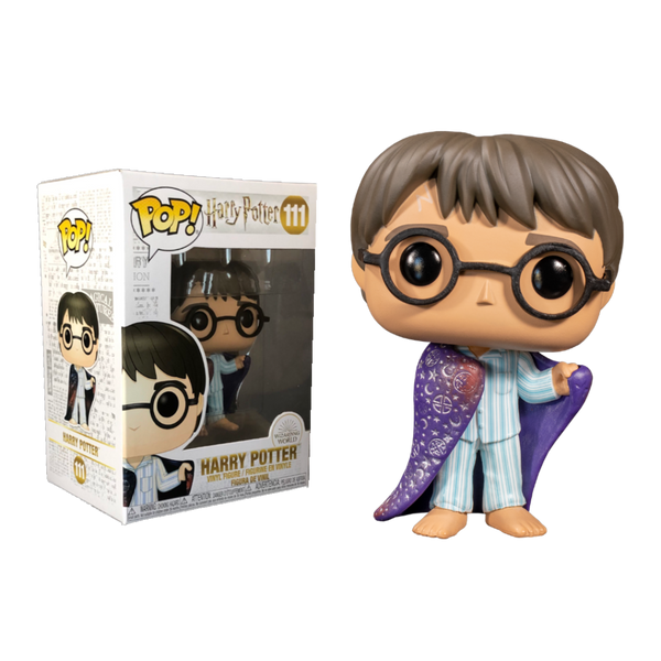 Harry Potter With Invisibility Cloak Special Edition Funko Pop Vinyl Figure
