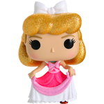 PRE ORDER Cinderella in Pink Dress Diamond Glitter Funko Pop! Vinyl
