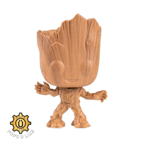 Marvel Baby Groot Wood Deco Funko Pop Vinyl Figure