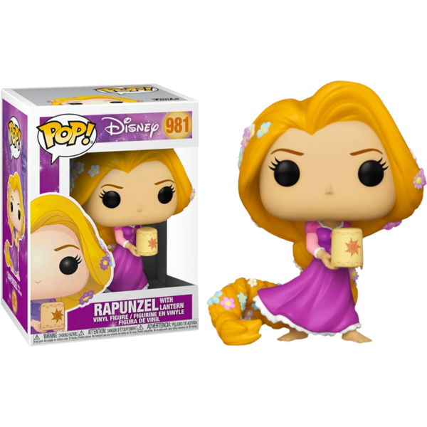 Tangled Rapunzel with Lantern Funko Pop! Vinyl