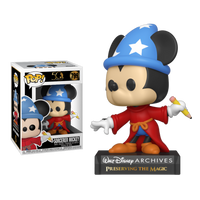Disney Archives Sorcerer Mickey Funko POP Vinyl Figure