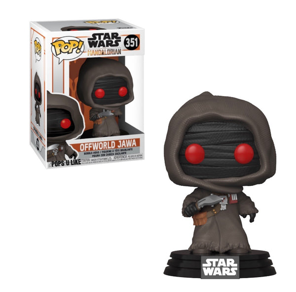 Star Wars Mandalorian Offworld Jawa Funko Pop Vinyl Figure