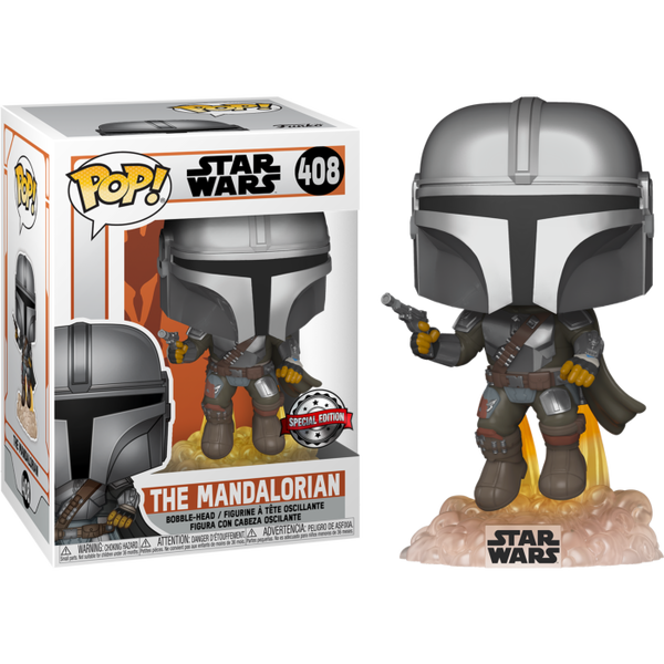 Star Wars The Mandalorian with Jetpack Funko Pop! Vinyl