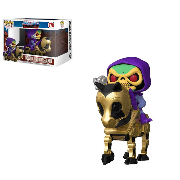 PRE ORDER Masters of the Universe Skeletor with Night Stalker Funko Pop! Vinyl Ride