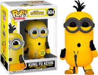 PRE ORDER Minions 2 Kung Fu Kevin Glow In The Dark Funko Pop Vinyl Figure The Rise Of Gru