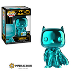DC Hero Batman Teal Chrome Funko Pop Vinyl Summer Convention Exclusive SDCC