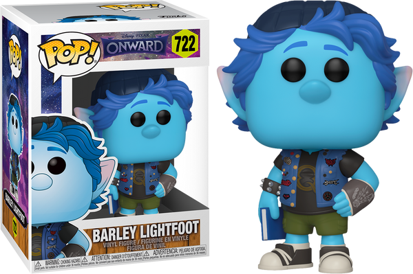 Disney Onward Barley Lightfoot Funko Pop! Vinyl Figure