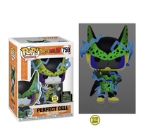 PRE ORDER Dragon Ball Z Perfect Cell (GITD) Funko Pop Vinyl Figure ECCC 2020 Exclusive