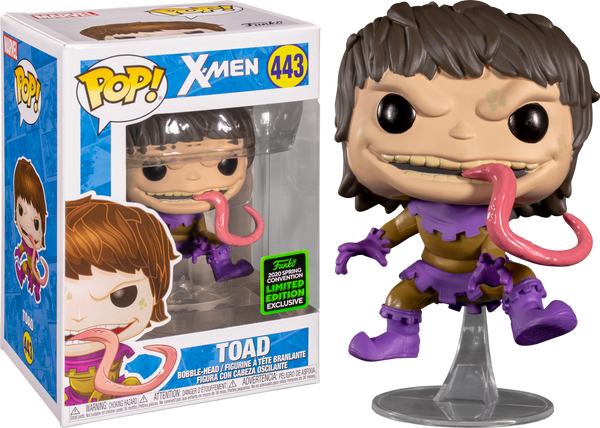 Marvel X-Men Toad Funko Pop Vinyl Figure ECCC 2020