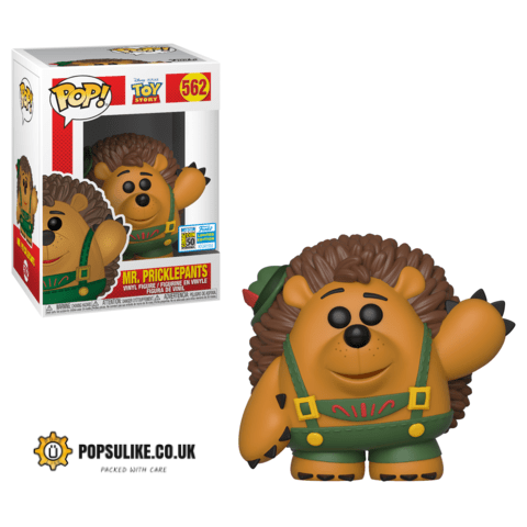 Toy Story Mr Pricklepants SDCC 2019 Funko Pop Vinyl