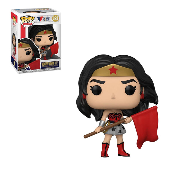 PRE ORDER DC Comics Wonder Woman 80th Wonder Woman Superman Red Son Funko Pop! Vinyl