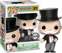Mr Monopoly Funko Pop Vinyl Figure