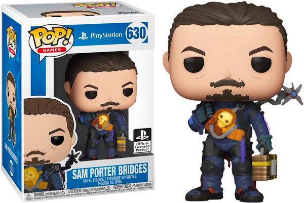 Death Stranding Sam Porter Bridge's In Armor Funko POP Vinyl