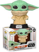 Star Wars Mandalorian The Child (Baby Yoda) Concerned Funko Pop Vinyl Figure
