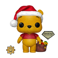 PRE ORDER Disney Holiday Diamond Glitter Winnie The Pooh Funko POP Vinyl