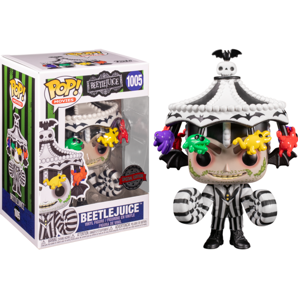 PRE ORDER Beetlejuice with Carousel Hat Funko Pop! Vinyl