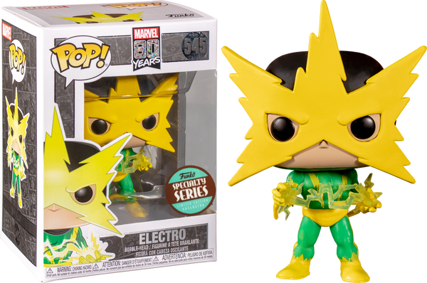 POP Marvel: 80th - First Appearance Electro Funko Pop Vinyl