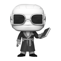 Universal Monsters Black And White Invisible Man Funko POP Vinyl