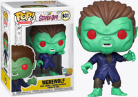 Scooby Doo Werewolf Funko Pop Vinyl Exclusive Figure