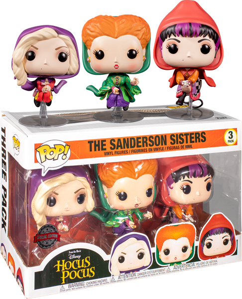 Hocus Pocus (1993) The Sanderson Sisters Flying Funko POP! Vinyl Figure 3-Pack