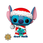 Lilo And Stitch Santa Stitch With Scrump Funko POP Vinyl Figure