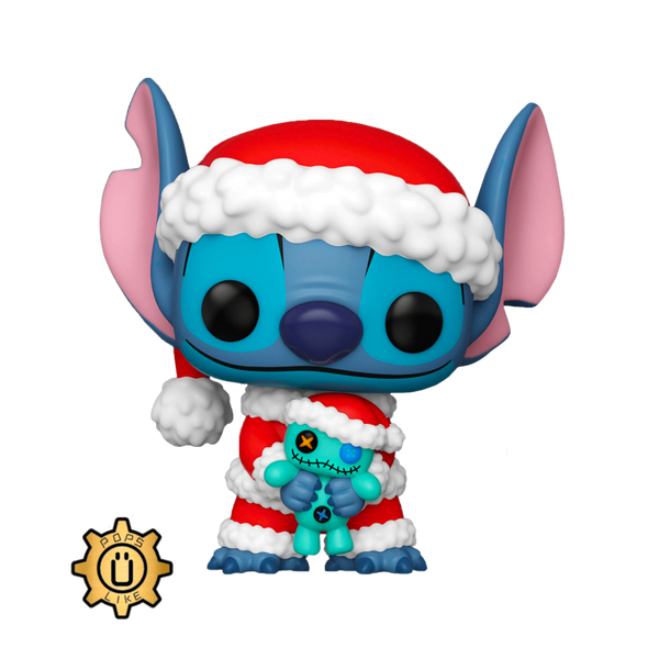 PRE ORDER Lilo And Stitch Santa Stitch With Scrump Funko POP Vinyl Figure