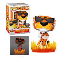 Cheetos Chester Cheetah with Flames Glow in the Dark Funko Pop! Vinyl