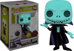 Disney Nightmare Before Christmas Vampire Jack Glow In The Dark Funko Pop! Vinyl Figure