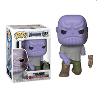 Marvel Avengers End Game Thanos with Detachable Arm Funko Pop Vinyl Figure ECCC 2020 Exclusive