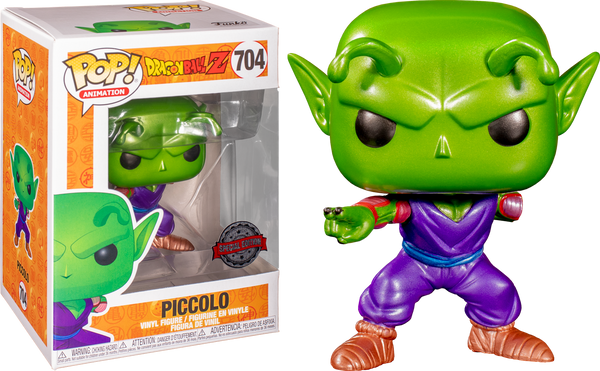 Dragon Ball Z Piccolo Missing Arm Metallic Funko Pop Vinyl Special Edition Exclusive