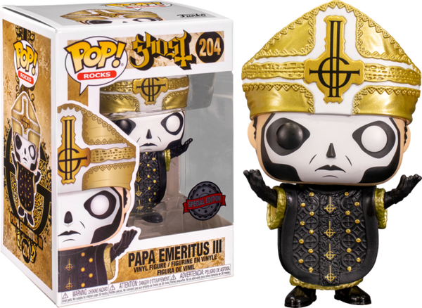 Ghost Papa Emeritus III Funko Pop! Vinyl